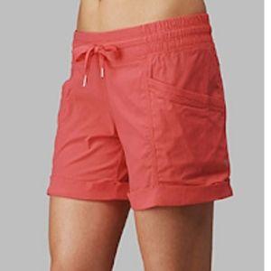 Lululemon Red Shorts